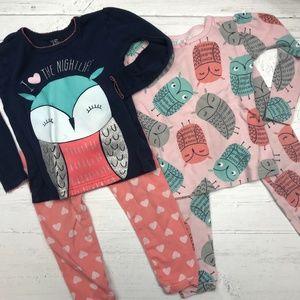 Toddler Girl Long Sleeve Pajamas